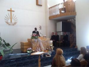 Богослужение в Харькове